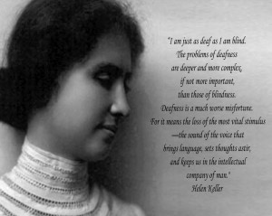 Sign Language Quotes Helen Keller Helen keller quote.