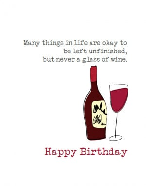 related pictures funny wine cheese happy birthday card