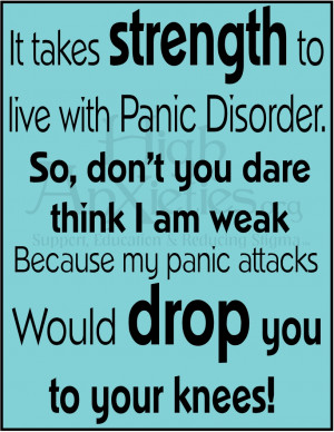 Panic Attack Quotes Dont You Dare