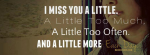miss you little..