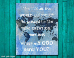 ... Bible Verse. Christian Wall Art. Christian Home Decor. Bible Quote