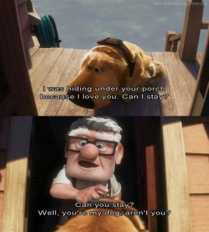 Disney Movie Quotes About Love Tumblr #up #screencap #film