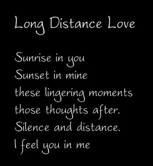 quotes about love and distance and time