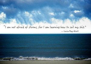 ... Ocean Photography - Quote Art Print - Inspirational Quote - Wall Art