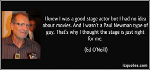 More Ed O'Neill Quotes