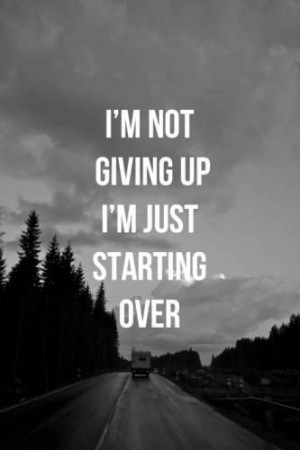 not giving up on love quotes