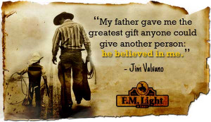 Father's Day Quote from F.M. Light and Sons