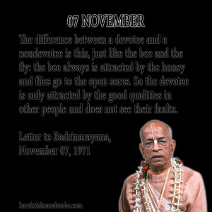 Quotes About November ~ Srila Prabhupada's Quotes In November | Hare ...