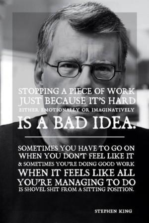 Stephen King: Hard Work