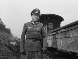 Paul Scofield in John Frankenheimer's The Train (1964)