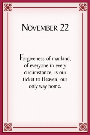 Forgiveness Marianne Williamson