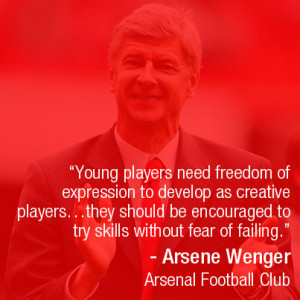 Players Club Quotes young players need freedom of