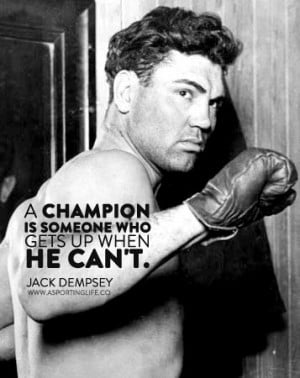 Sports Quotes / #jackdempsey #sports #quotes #sportsquotes