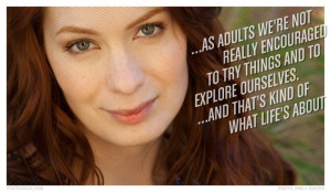 FeliciaDay #Quotes #StatedMag