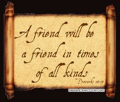 Bible Verses About Friendship | Bible Verse Comments, Images, Graphics ...