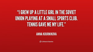 anna kournikova quotes it s that i have a good personality and am a ...