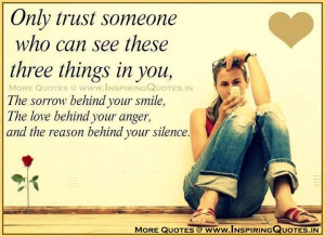 Trust Quotes The Best Trust Quotes Trust Friends Quotations Images ...