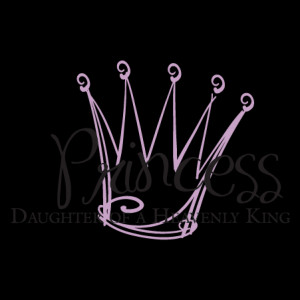 Daughter Of A heavenly King Wall Quotes™ Decal