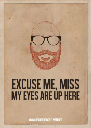 Poster-quotes In Honor of the Bearded Man