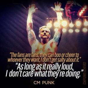 cm punk quote