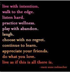 Goals of a good life