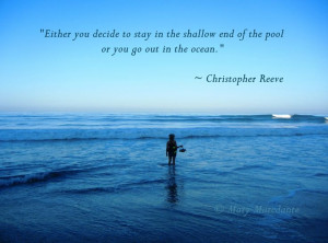 Going To The Beach Quotes | Inspired Action: The Shallow End of the ...