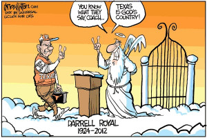 Darrell Royal Tribute