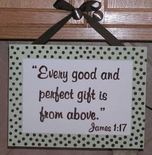 James 1.17 Bible Verse