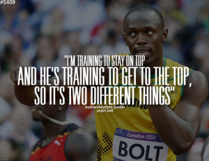 Usain Bolt Quotes