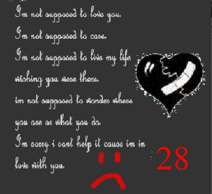 love quotes for him from her broken heart