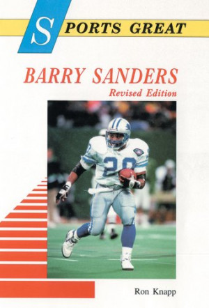 a research on the life and career of barry sanders Barry sanders : biography  personal life sanders's son, barry james sanders,  college career sanders played for the oklahoma state cowboys from 1986 to 1988,.