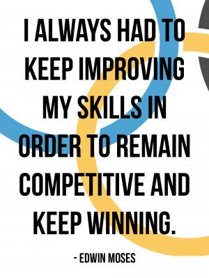 Always Had Keep Improving...