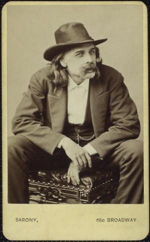 nineteenth-century humorist Josh Billings (nee Henry Wheeler Shaw)