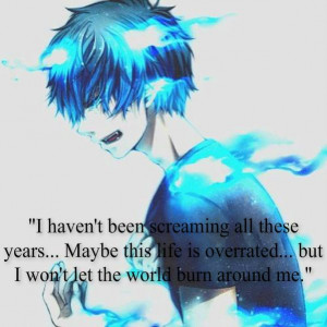 ... . Manga Quotes, Animal Quotes, Animee Quotes, Blue Exorcist Quotes