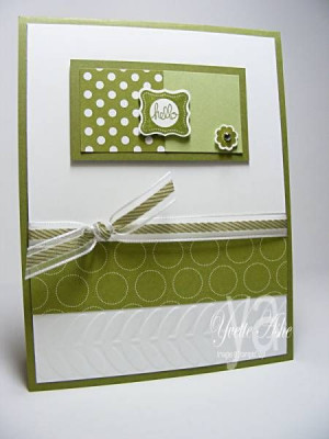 Hello Pretty Petites by Yvette - Cards and Paper Crafts at ...
