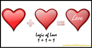 logic and love quotes