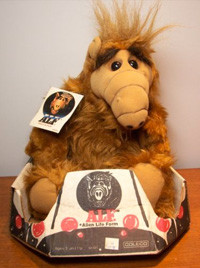 Vintage ALF Plush Doll from Coleco - 1986