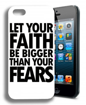 Faith Religious Christian Cute Inspirational Quote Case cover for ...