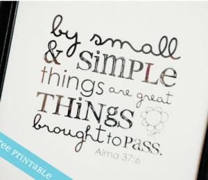 Inspirational Printable