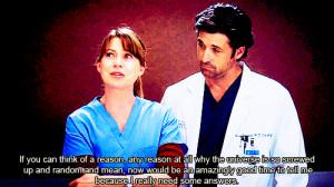 Grey's Anatomy Quotes On Friendship | Filed Under Greys Anatomy Grey S ...