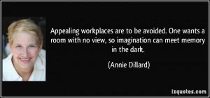 More Annie Dillard Quotes
