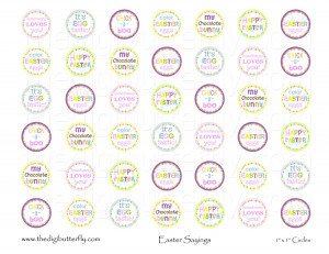 easter sayings cute easter sayings bottle cap cute easter sayings ...