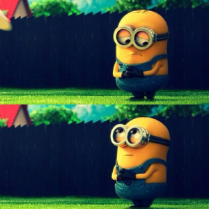 Sad Minion Uses Cuteness To Be Forgiven In Despicable Me