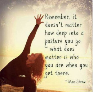 Back > Quotes For > Yoga Poses And Quotes