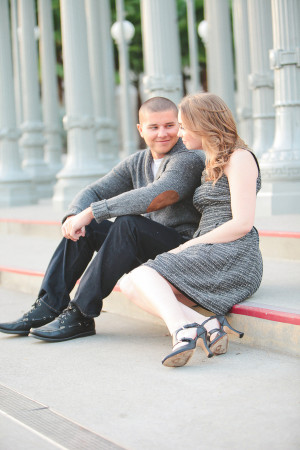 Kate amp Brian 39 s Picture Perfect Los Angeles Engagement