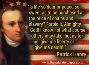 Patrick Henry Poster, Speech at the Second Virginia Convention at St ...