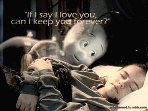 SUDDENLY~ i remember Casper!!! haha i really really miss the line