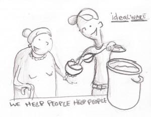We Help People Help People
