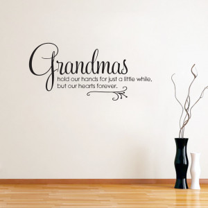 Grandmas - Wall Decals