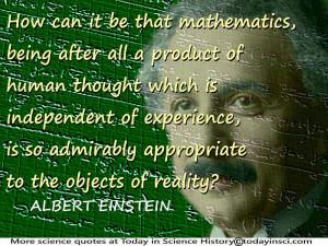 Albert Einstein Technology Quote